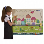 Childrens Wallboard City Traffic